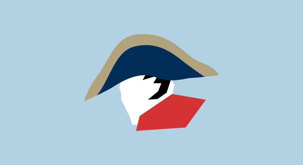 ナポレオンのイラスト