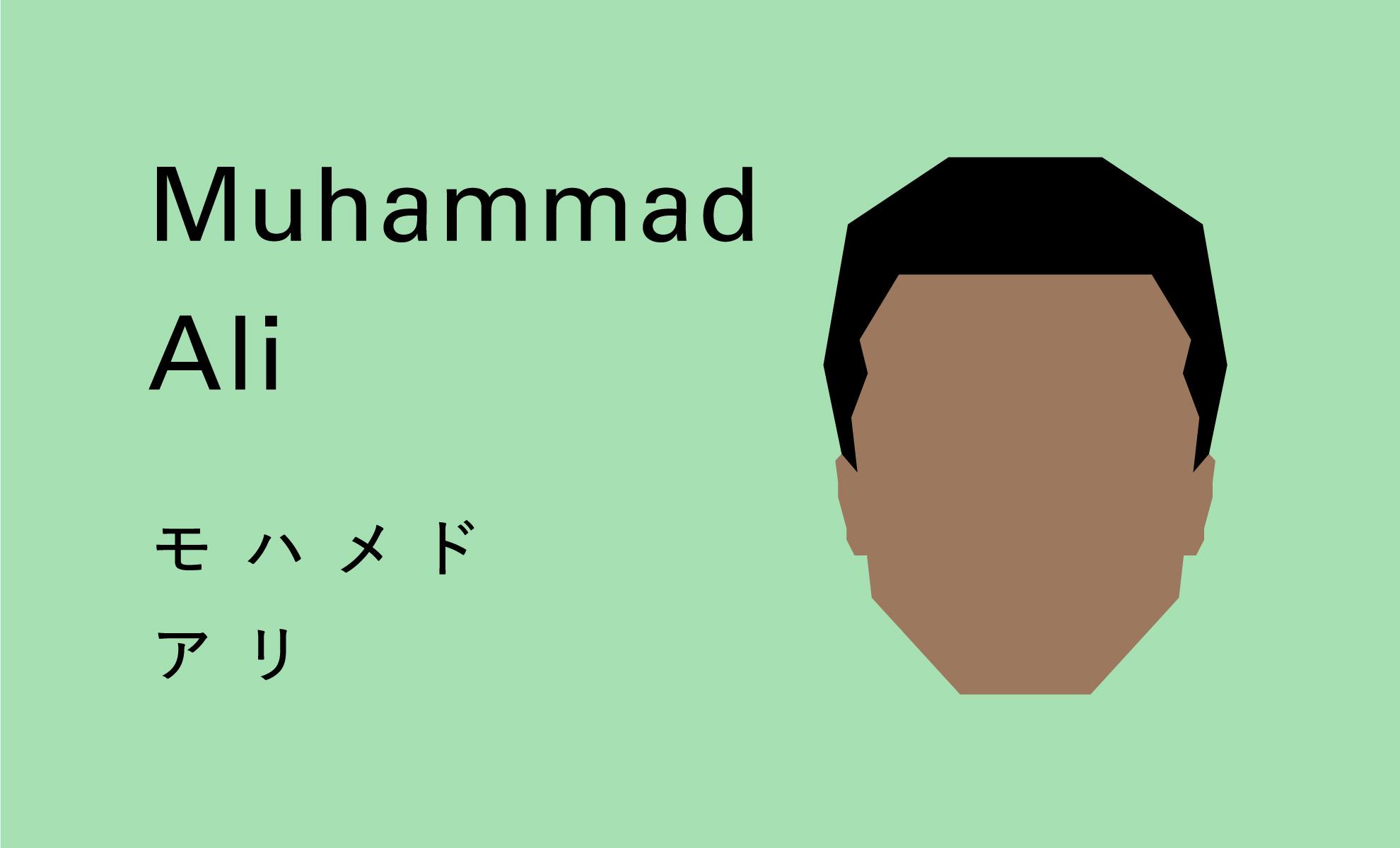 モハメドアリ 画像